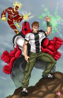 Timewarp: Ben 10 by WiL-Woods