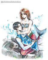 Fan Art: LeviHan Fairytale Little Mermaid by AkaReikou