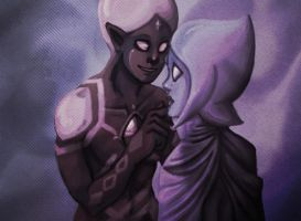 'I'll Love You to Death' ::Ghirahim_Fi:: by x-A-T-L-A-S-x