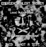 The Observer Emergency Alert System Screen by MrAngryDog