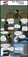 Daft Comic: The Dubious Offer by Valnushka