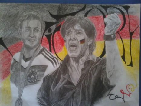 Victory for Germany by angelucifa