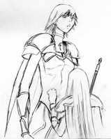 Claymore sketch Bd.15 Pg.96 by desprosal