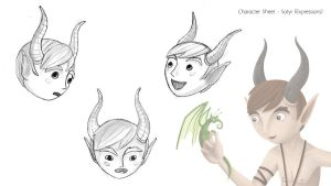 Satyr Concept - Expressions