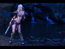 Nightelf Wallpaper by YurikoCosplay