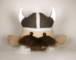 Brutus the Strong Viking Warrior Plushie Friend by Saint-Angel