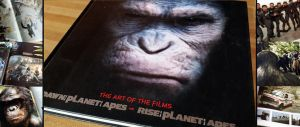 Art Book Review: Planet of the Apes 1 and 2 by CGCookie