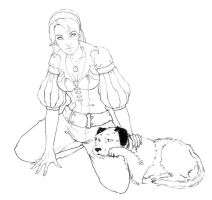 Fable 3 Princess by kriolin