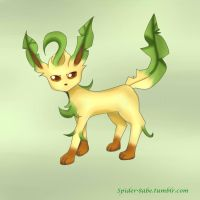 Leafeon by spider-8a8e
