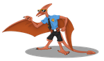 Pteranocop by kateDragon