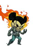 Ghost Rider Mickey by HeribertoHernandez
