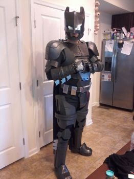 Batman Mech Suit Cosplay 2nd Test Fit by jronk13