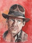 Indiana Jones by stuponitron
