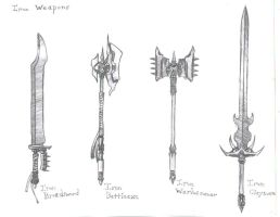 Iron Weapons 1 by Ellundiel