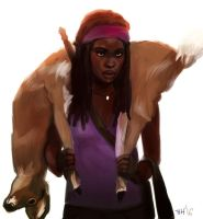 Everything for Negan - Michonne by TalaStrogg