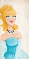 Designer Bookmark - Cinderella by Tella-in-SA