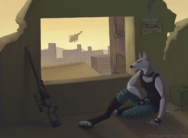 Jenny is waiting by Astarcis