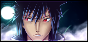 Naruto 661 - Izuna Uchiha by DeviousSketcher