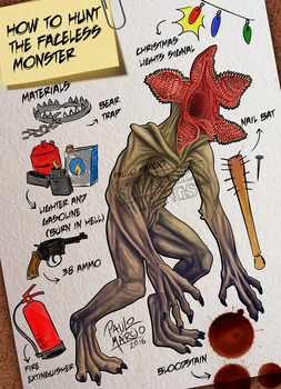 Stranger Things Demogorgon by pauloomarcio