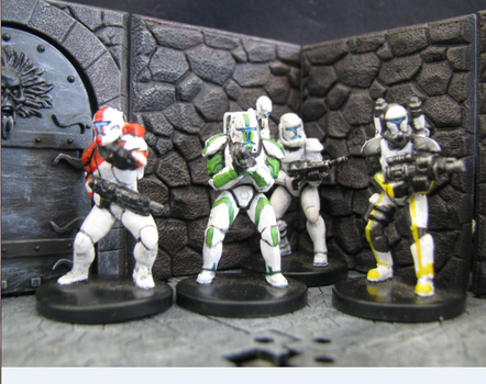 Republic Commando Team Delta by DrDoSoLittle