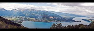 Lake Annecy by Duophonix