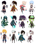 Adoptables (200 points/2$) by Eimtee