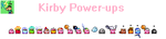 Kirby Power-ups by ElectricStaticGamer