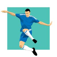 Soccer player 20091112 - 01 by parka