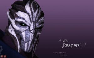 ME Wallpaper - Ah yes, Reapers by pineappletree