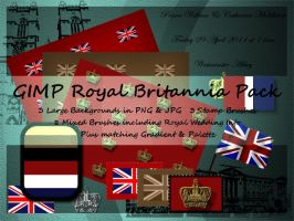 GIMP Royal Britannia Pack by Jedania