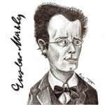 Gustav Mahler by BlackPotion