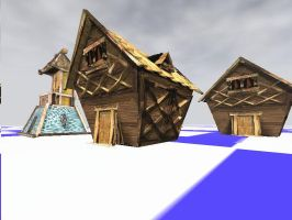 3D RPG HOUSES - TORQUE engine by EricMor