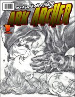ark cover b/w by knottyhead