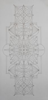 Line Drawing - Color to Come by VISSUTO