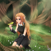 CM:Clair in the Magical Forest by xXUnicornXx