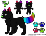 Custom Wolf For Artisticflame by NightzKillerAdopts