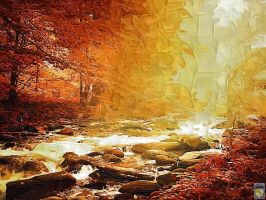 autumn forest by imageking10