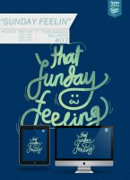 Freebie: TCWP #03 SUNDAY FEELIN by eugeniaclara