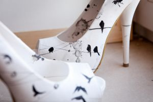 IRON FIST SHOES by  HANDMADE EDIT byLORA ZOMBIE II by lora-zombie