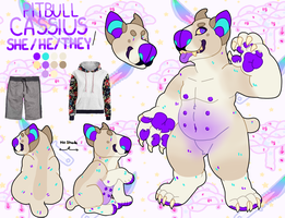 Cassius Reference sheet by Choweh