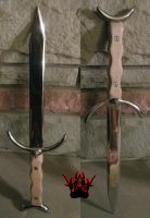 Star Athame by deathatsix
