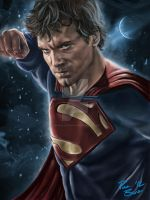 Man of Steel. by rbrunoillustration