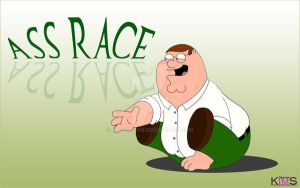 Peter Griffin's Ass race by KimsDesign