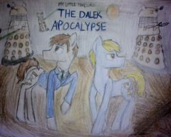 My Little Timelord The Dalek Apocalypse Cover by KimandAbbysaccount