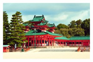 Heian Shrine II by sacadura