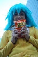 Elusive bag of Cheetos by jinxed-jem
