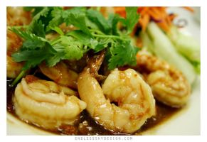 shrimp in garlic sauce by yourpeachy