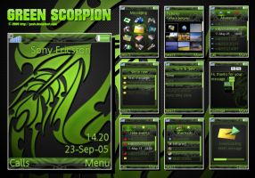 Green Scorpion by pzUH