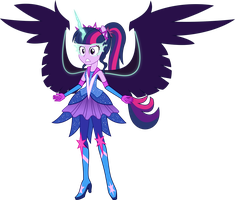Super Ponied Up Midnight Twi (COM) by Osipush