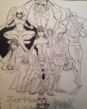 Justice League Dark by MichaeltheArchangel1